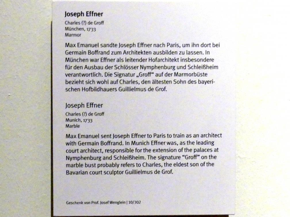 Joseph Effner (1687 Dachau - 1745 München), Bild 2/2