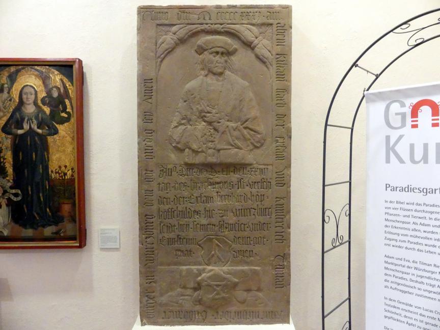 Tilman Riemenschneider (um 1460 Heiligenstadt - 1531 Würzburg)