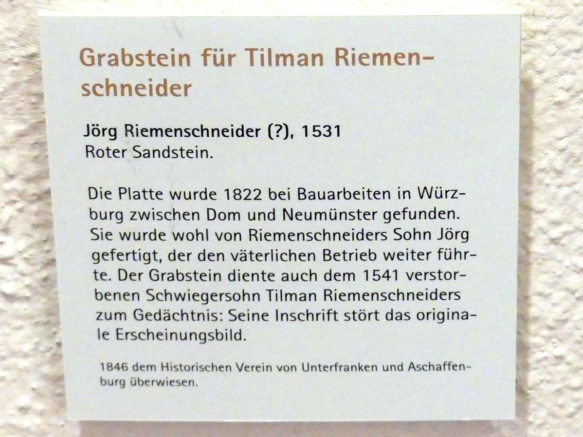 Tilman Riemenschneider (1460 - 1531)
