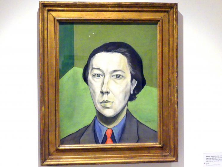 André Breton (1896 Tinchebray - 1966 Paris)