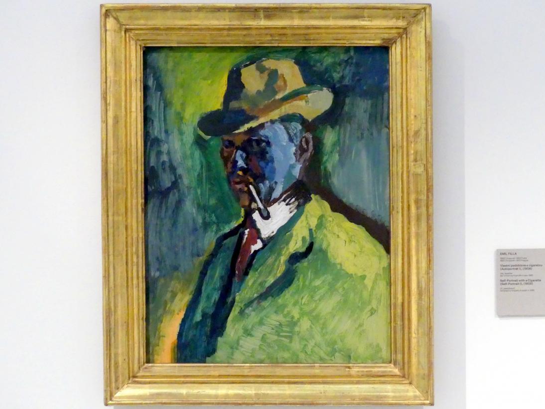 Emil Filla (1882 Chropyně - 1953 Prag)