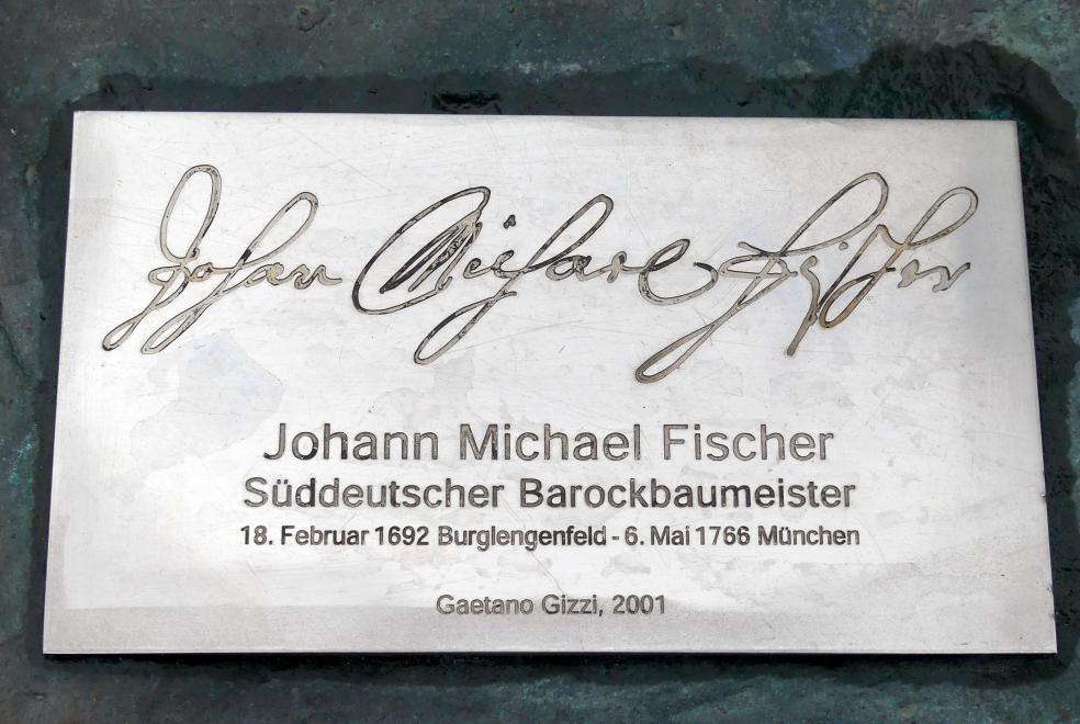 Johann Michael Fischer (Baumeister) (1692 Burglengenfeld - 1766 München)