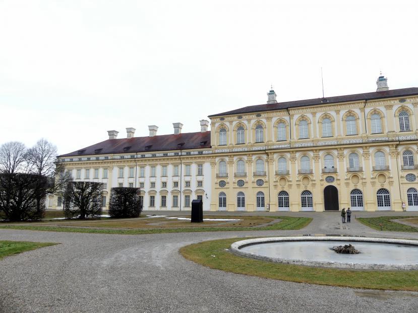 Schleißheim, Schlossanlage, Neues Schloß, Bild 2/13