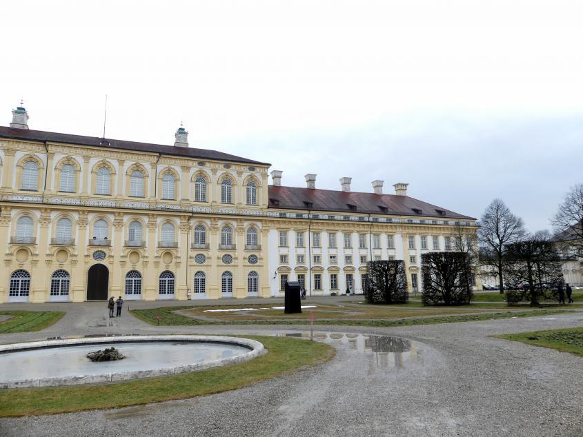 Schleißheim, Schlossanlage, Neues Schloß, Bild 4/13