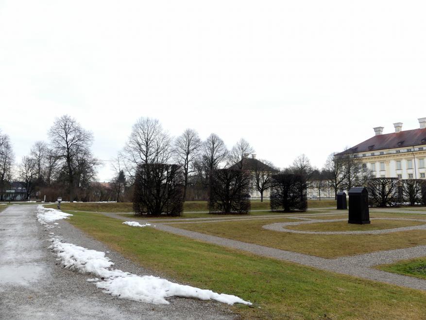 Schleißheim, Schlossanlage, Neues Schloß, Bild 5/13
