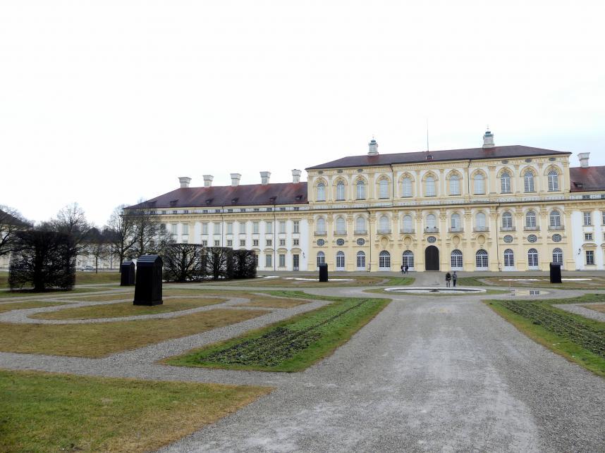 Schleißheim, Schlossanlage, Neues Schloß, Bild 7/13