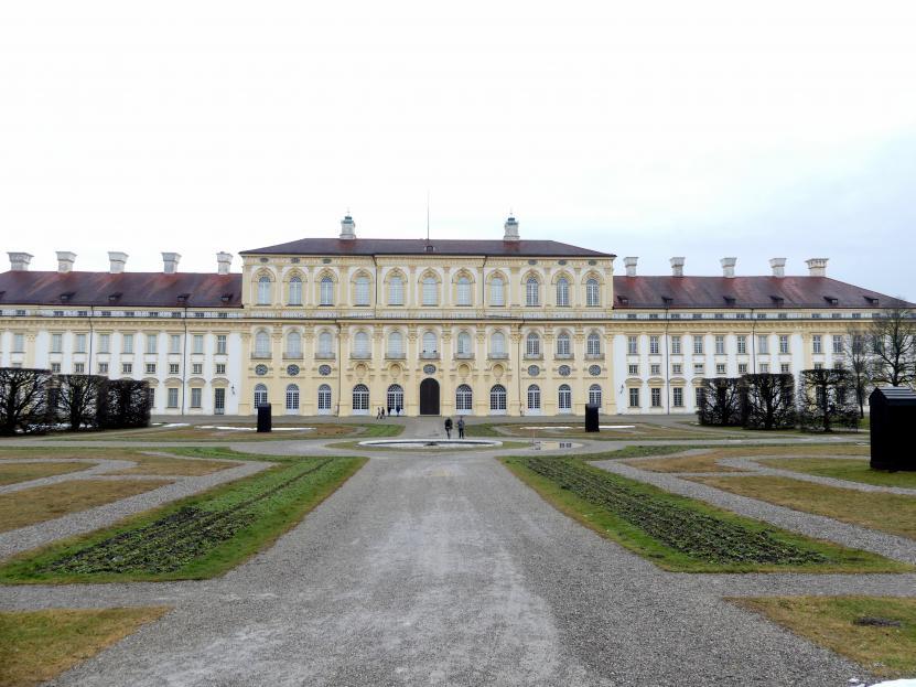 Schleißheim, Schlossanlage, Neues Schloß, Bild 8/13
