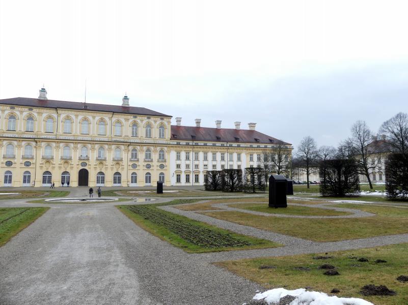 Schleißheim, Schlossanlage, Neues Schloß, Bild 9/13