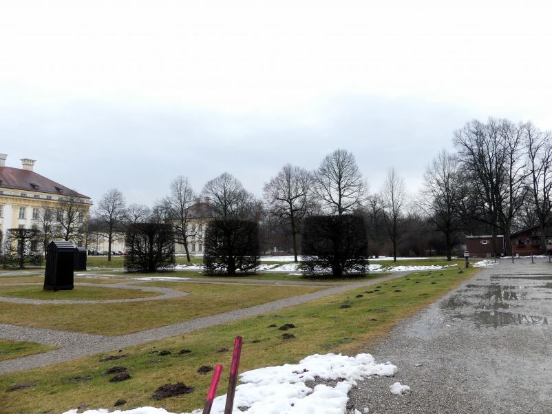 Schleißheim, Schlossanlage, Neues Schloß, Bild 11/13
