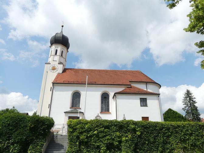 Eching am Ammersee, Pfarrkirche St. Peter und Paul
