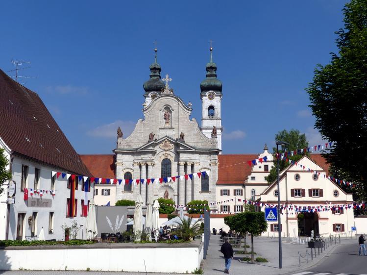 Zwiefalten, ehemalige Benediktiner-Abteikirche, heute Pfarr- und Wallfahrtskirche Unserer Lieben Frau