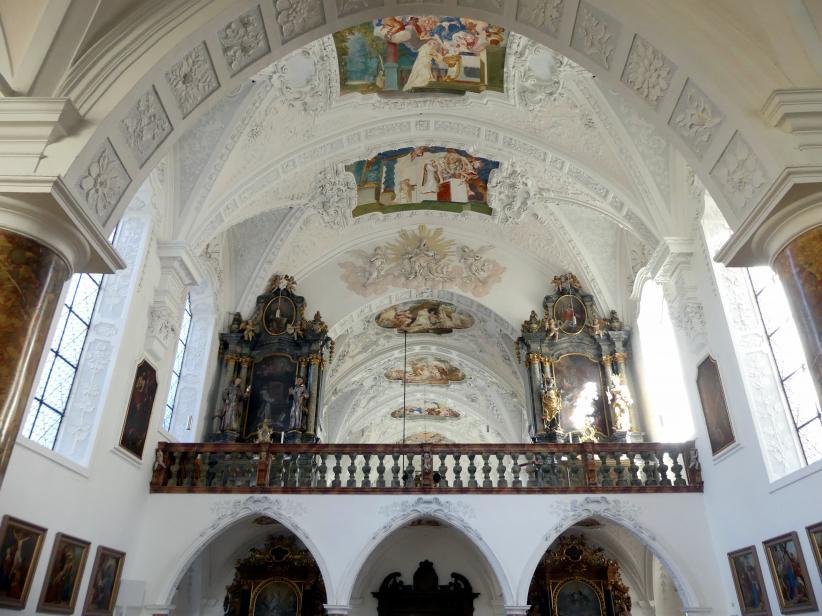 Buxheim, ehemalige Reichskartause, jetzt Salesianerkloster, Klosterkirche Maria Saal, Bild 1/3