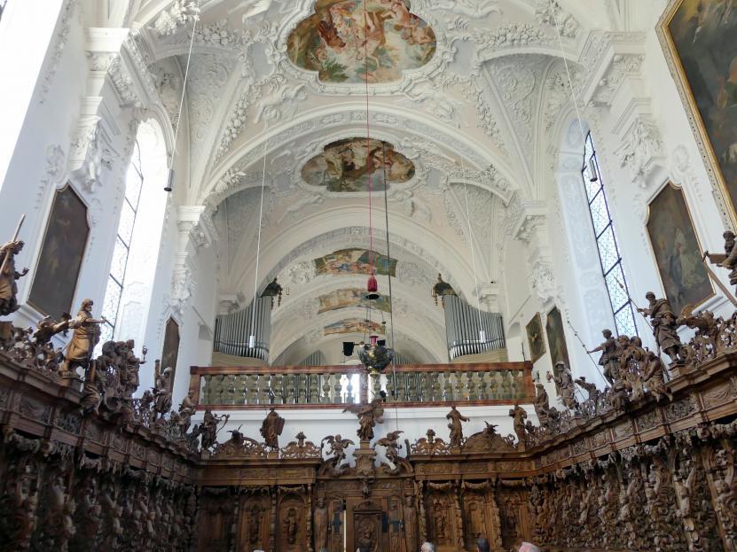 Buxheim, ehemalige Reichskartause, jetzt Salesianerkloster, Klosterkirche Maria Saal, Bild 2/3