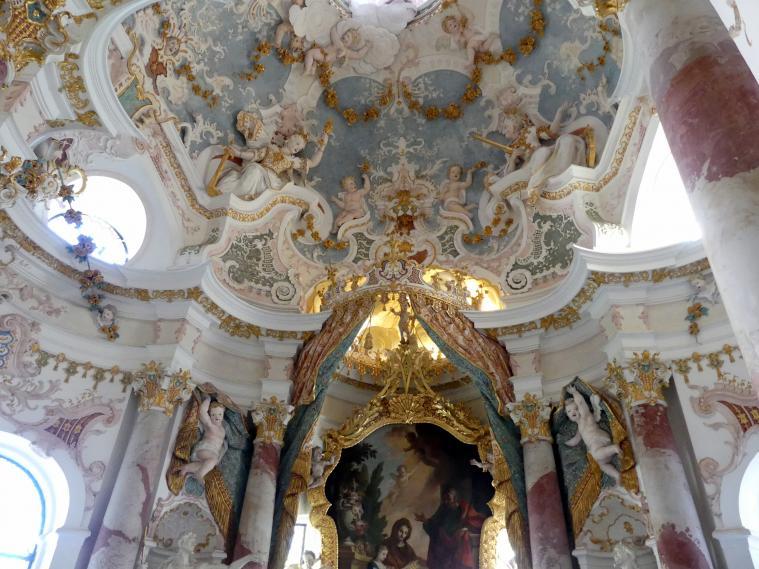 Buxheim, ehemalige Reichskartause, jetzt Salesianerkloster, St. Annakapelle