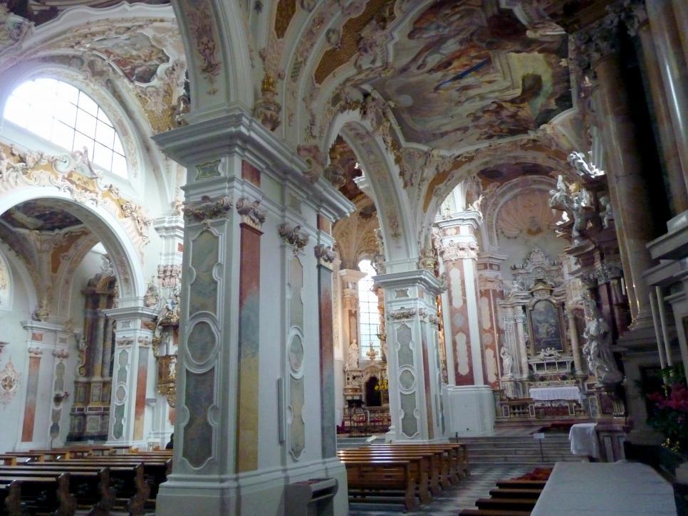 Neustift bei Brixen (Südtirol), Augustiner-Chorherrenstift, Klosterkirche Mariä Himmelfahrt