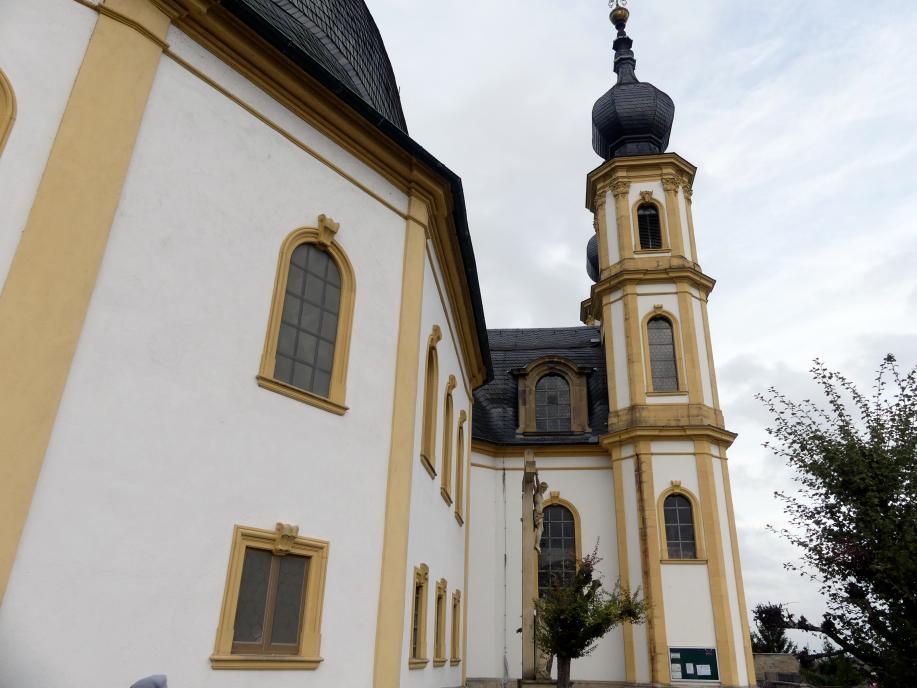 Würzburg, Käppele Wallfahrtskirche Mariä Heimsuchung auf dem Nikolausberg, Bild 2/5