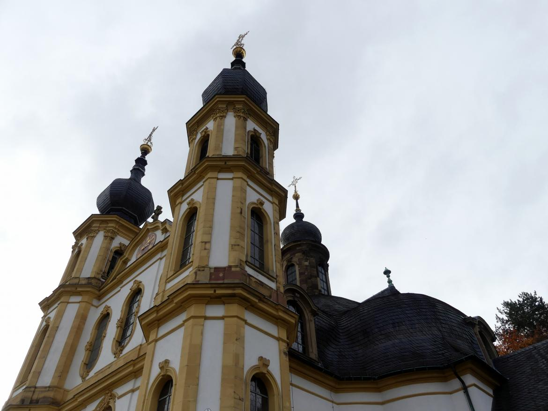 Würzburg, Käppele Wallfahrtskirche Mariä Heimsuchung auf dem Nikolausberg, Bild 4/5