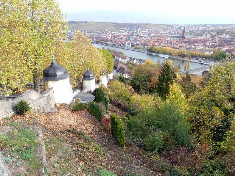 Würzburg, Käppele Wallfahrtskirche Mariä Heimsuchung auf dem Nikolausberg
