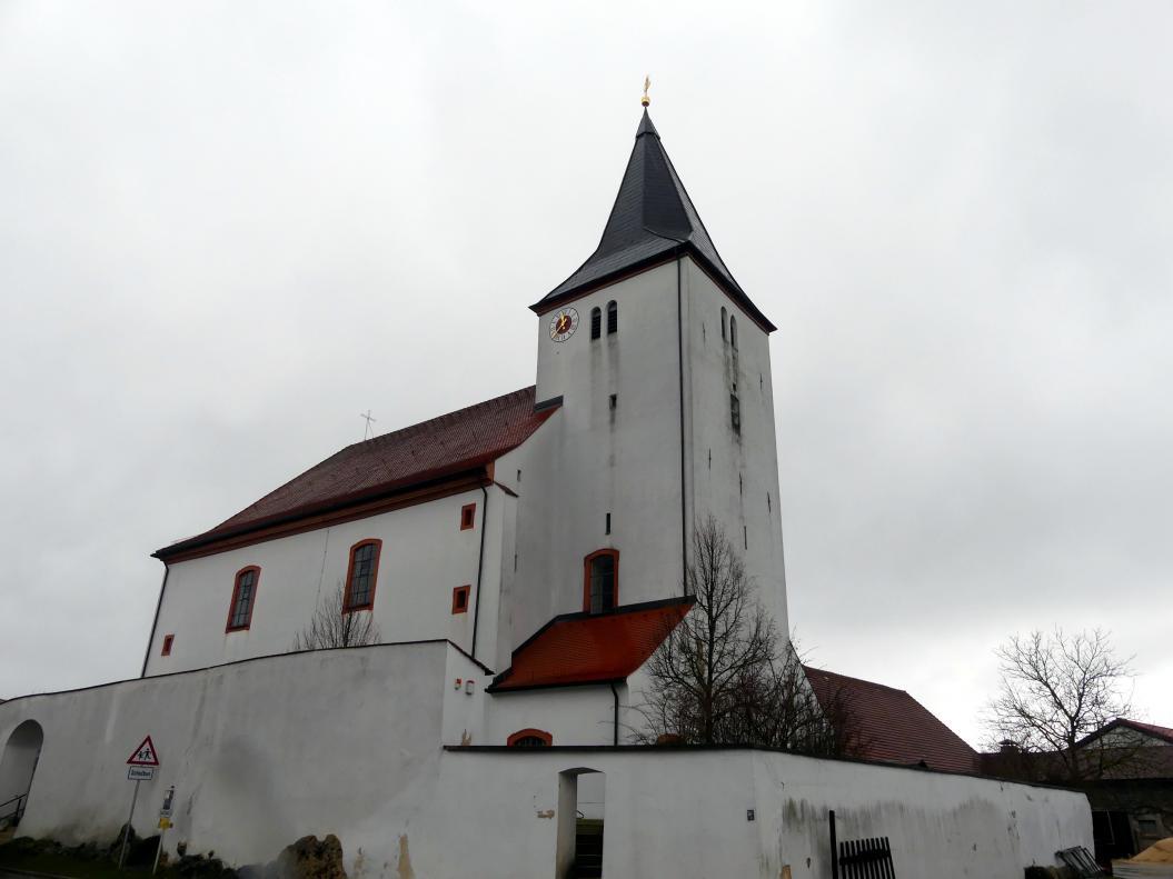 Trautmannshofen, Pfarr- und Wallfahrtskirche Mariä Namen, Bild 1/4