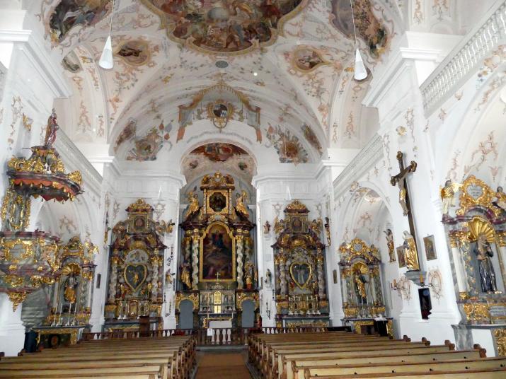Trautmannshofen, Pfarr- und Wallfahrtskirche Mariä Namen, Bild 3/4