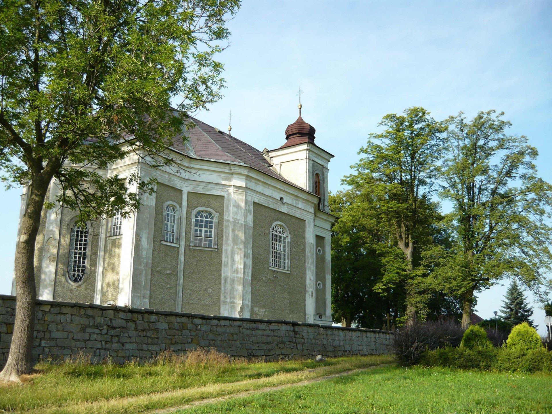 Bösig an der Mettau (Bezděkov nad Metují), Pfarrkirche St. Prokop