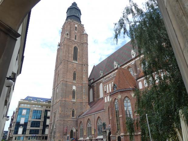 Breslau, Kirche St. Elisabeth, Bild 1/8