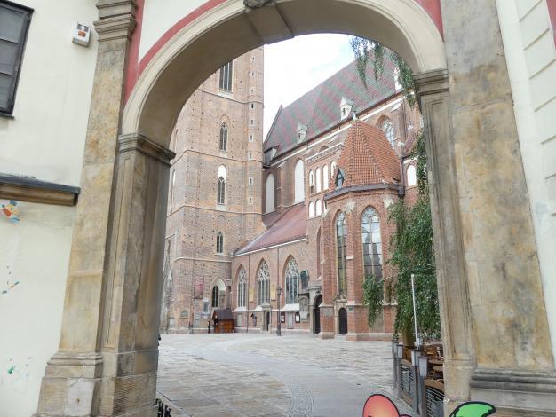 Breslau, Kirche St. Elisabeth, Bild 4/8
