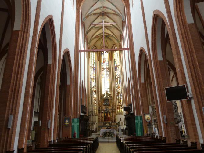 Breslau, Kirche St. Elisabeth, Bild 5/8