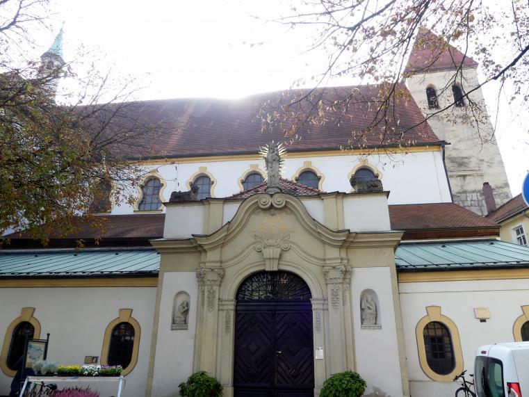 Regensburg, Kollegiatstift Unserer Lieben Frau zur Alten Kapelle, Stiftskirche