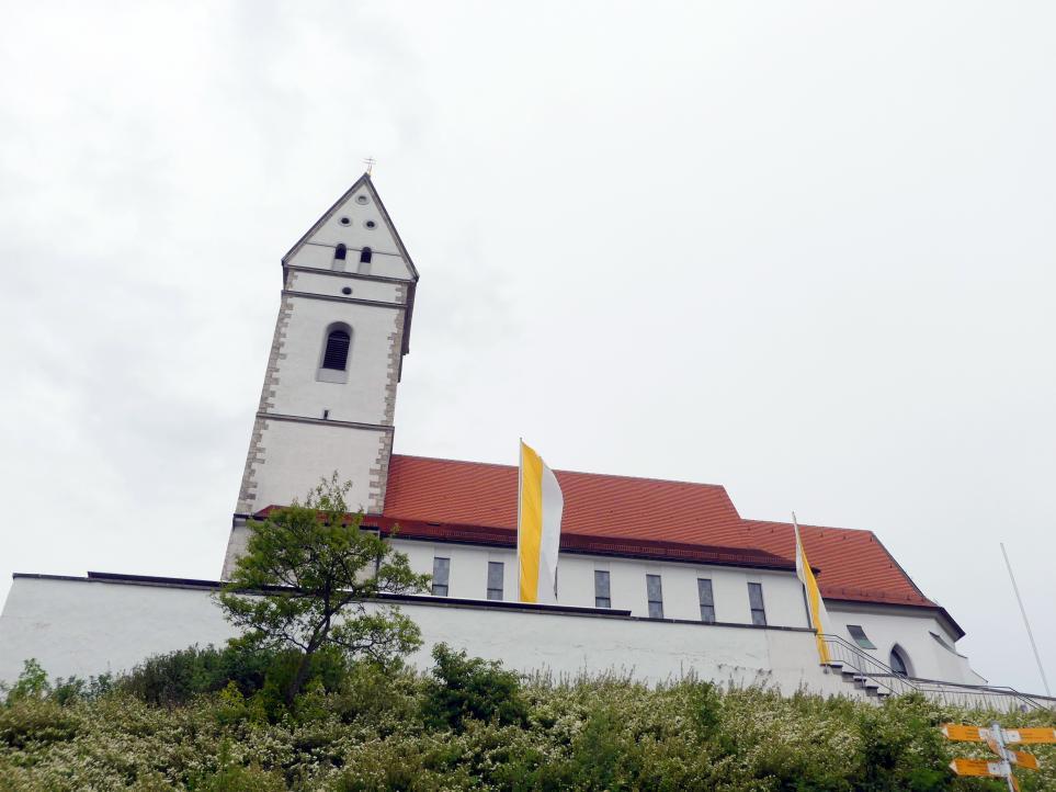 Offingen (Uttenweiler), Wallfahrtskirche St. Johannes Baptist auf dem Bussen, Bild 2/2