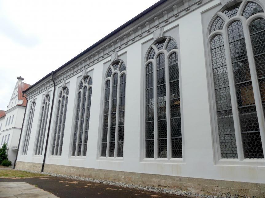 Bad Buchau, ehem. Damenstift, ehem. Stiftskirche, heute Pfarrkirche St. Cornelius und Cyprianus, Bild 2/4