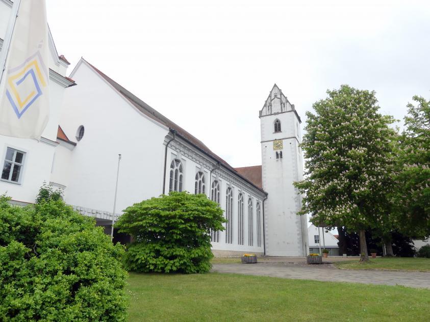 Bad Buchau, ehem. Damenstift, ehem. Stiftskirche, heute Pfarrkirche St. Cornelius und Cyprianus, Bild 3/4
