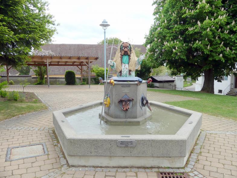 Bad Buchau, ehem. Damenstift, ehem. Stiftskirche, heute Pfarrkirche St. Cornelius und Cyprianus, Bild 4/4