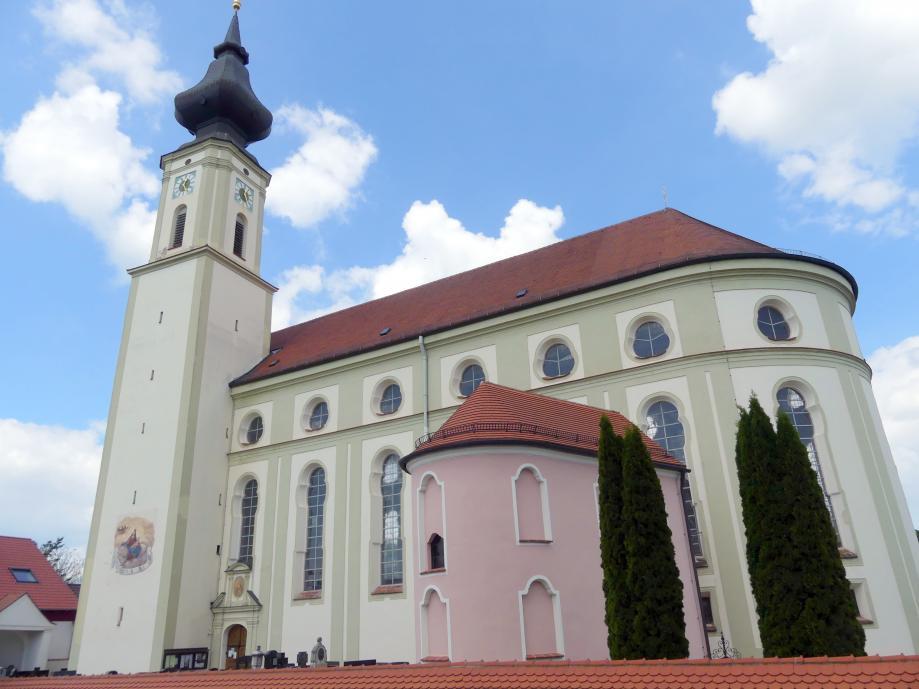 Altfraunhofen, Pfarrkirche St. Nikolaus, Bild 1/4