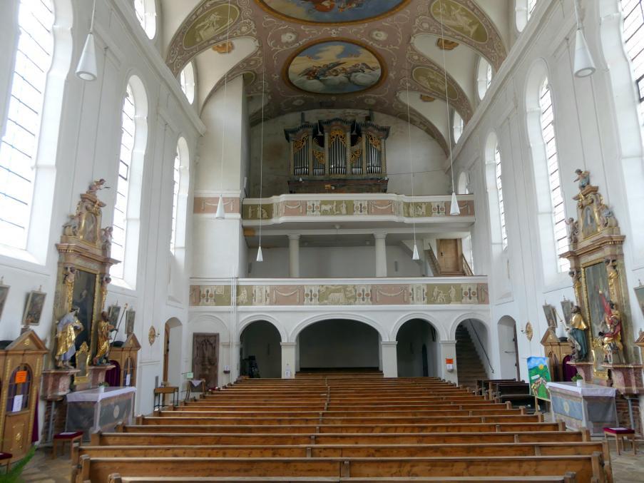 Altfraunhofen, Pfarrkirche St. Nikolaus, Bild 3/4