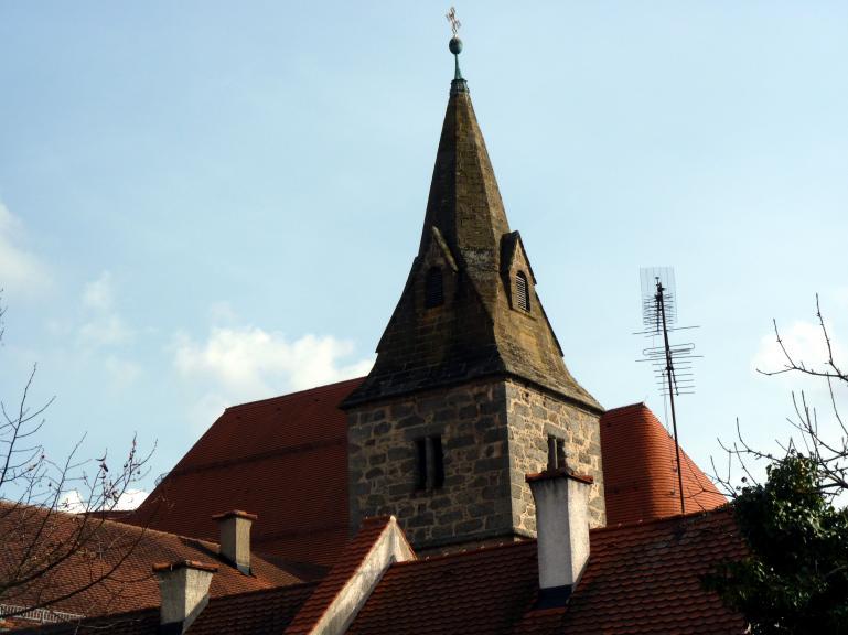 Frauenzell, ehem. Benediktinerabtei, ehem. Klosterkirche, heute Pfarrkirche Mariä Himmelfahrt, Bild 1/4