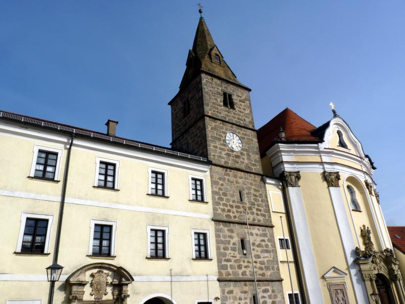 Frauenzell, ehem. Benediktinerabtei, ehem. Klosterkirche, heute Pfarrkirche Mariä Himmelfahrt, Bild 2/4