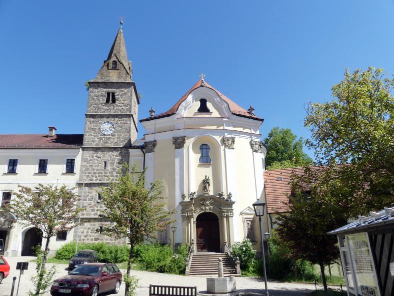 Frauenzell, ehem. Benediktinerabtei, ehem. Klosterkirche, heute Pfarrkirche Mariä Himmelfahrt, Bild 4/4