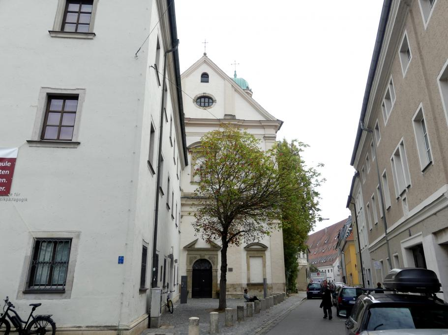 Regensburg-Stadtamhof, ehem. Augustiner-Chorherrenstift St. Mang, ehem. Stiftskirche, Bild 1/8