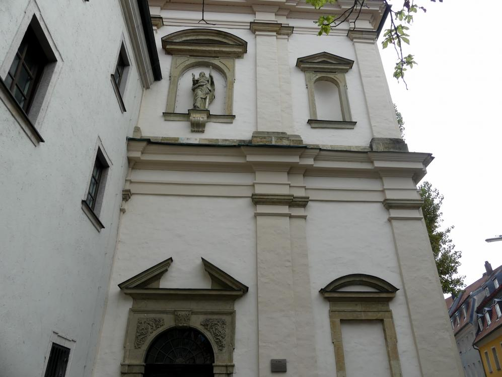 Regensburg-Stadtamhof, ehem. Augustiner-Chorherrenstift St. Mang, ehem. Stiftskirche