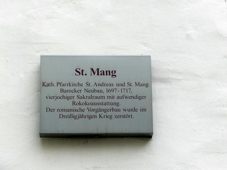 Regensburg-Stadtamhof, ehem. Augustiner-Chorherrenstift St. Mang, ehem. Stiftskirche, Bild 4/8
