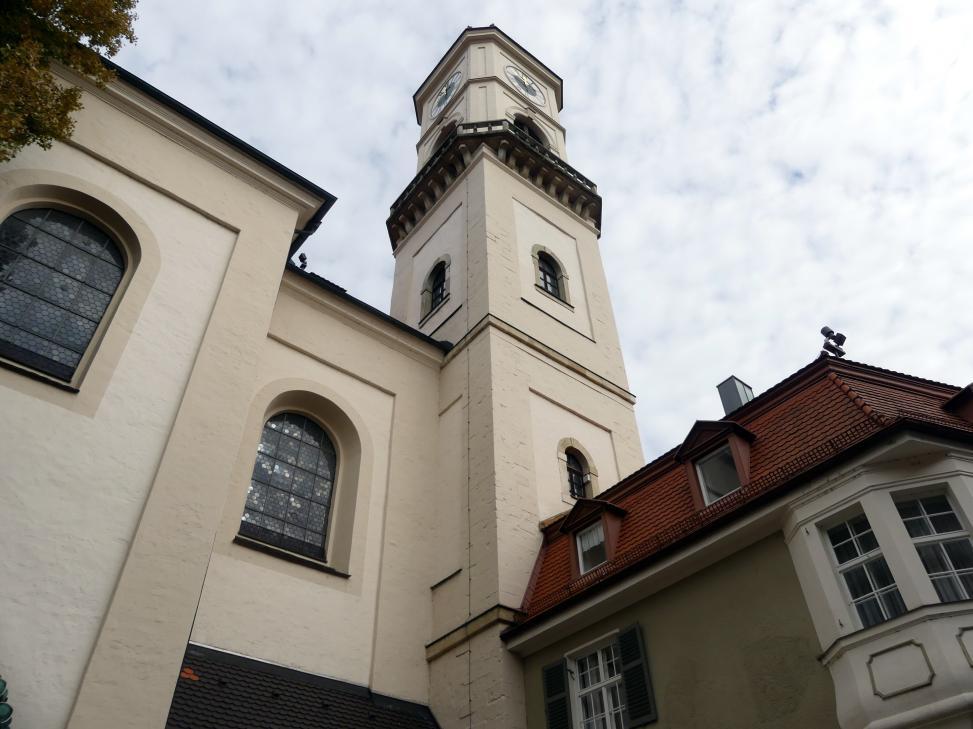 Regensburg-Stadtamhof, ehem. Augustiner-Chorherrenstift St. Mang, ehem. Stiftskirche, Bild 6/8
