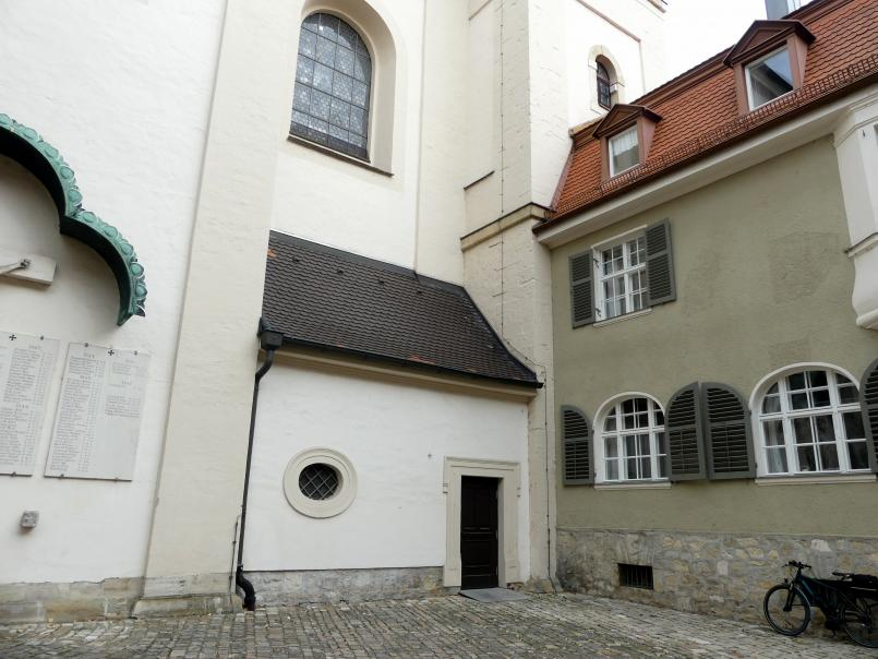 Regensburg-Stadtamhof, ehem. Augustiner-Chorherrenstift St. Mang, ehem. Stiftskirche, Bild 7/8
