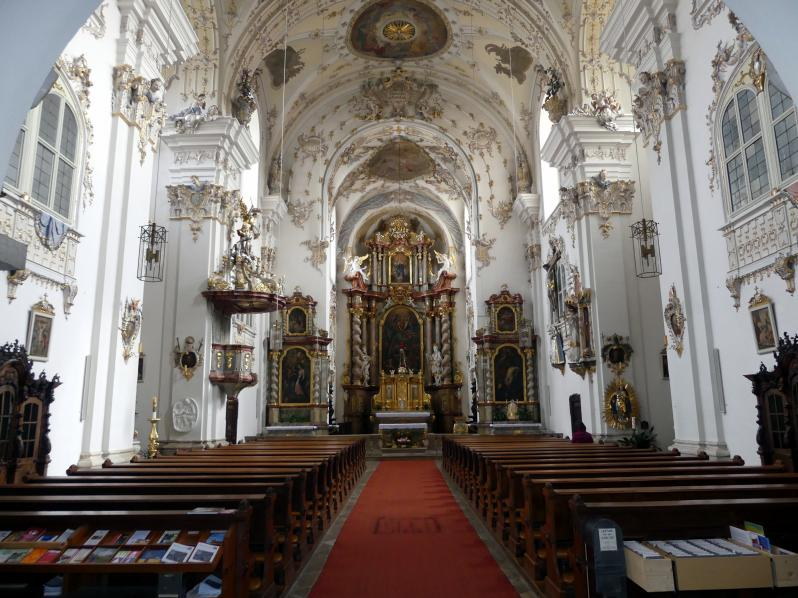 Regensburg-Stadtamhof, ehem. Augustiner-Chorherrenstift St. Mang, ehem. Stiftskirche, Bild 8/8