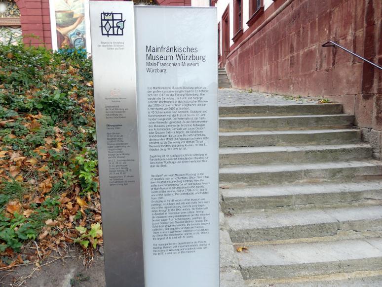 Würzburg, Museum für Franken (ehem. Mainfränkisches Museum), Bild 4/5