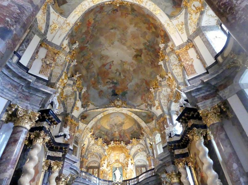 Würzburg, ehem. Residenz, ehem. Hofkirche Allerheiligste Dreifaltigkeit, Bild 3/5