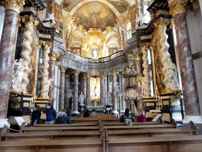 Würzburg, ehem. Residenz, ehem. Hofkirche Allerheiligste Dreifaltigkeit, Bild 5/5