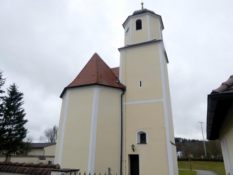 Deusmauer (Velburg), Pfarrkirche St. Maria und Margareta