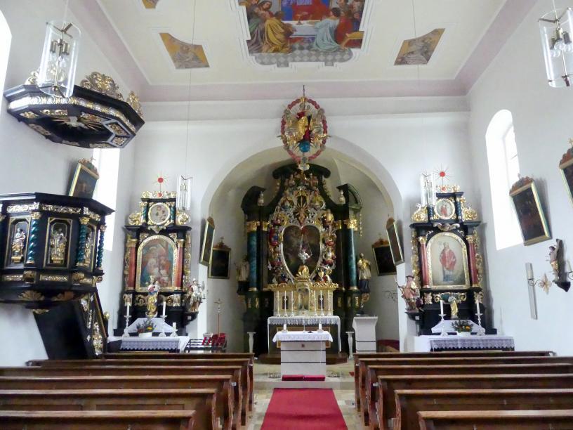 Deusmauer (Velburg), Pfarrkirche St. Maria und Margareta, Bild 3/5