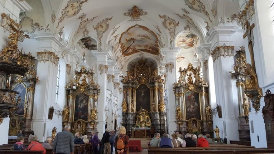 Bergen bei Neuburg, Pfarr- und Wallfahrtskirche Hl. Kreuz